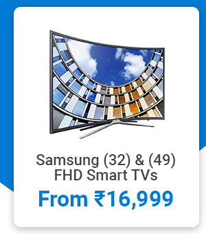 Samsung Smat TVs from Rs.16,999