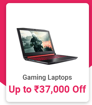 Gaming Laptops up to Rs.37,000 off