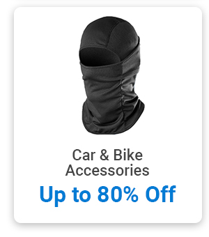 Car & Bike Accessories up to 80% Off