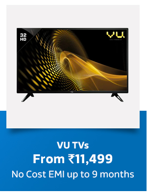 Vu LED TVs - From Rs.11,499
