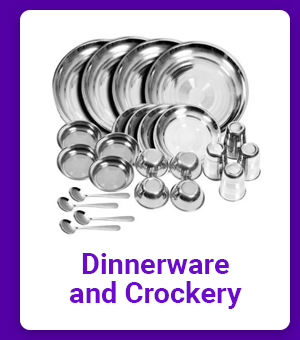 Dinnerware and Crockery