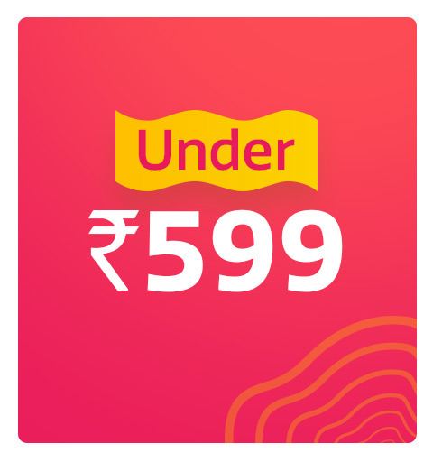 Under Rs.599