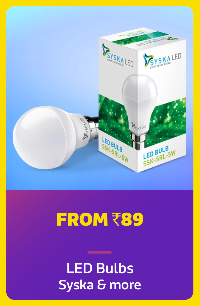 Bulbs from Rs.89