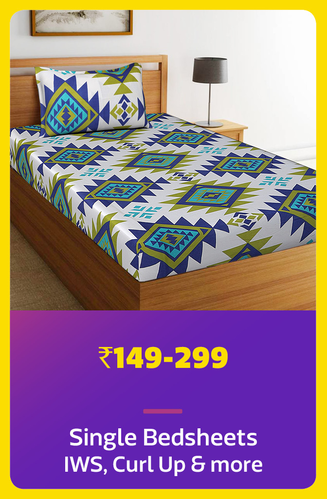 Bedsheets under Rs.299