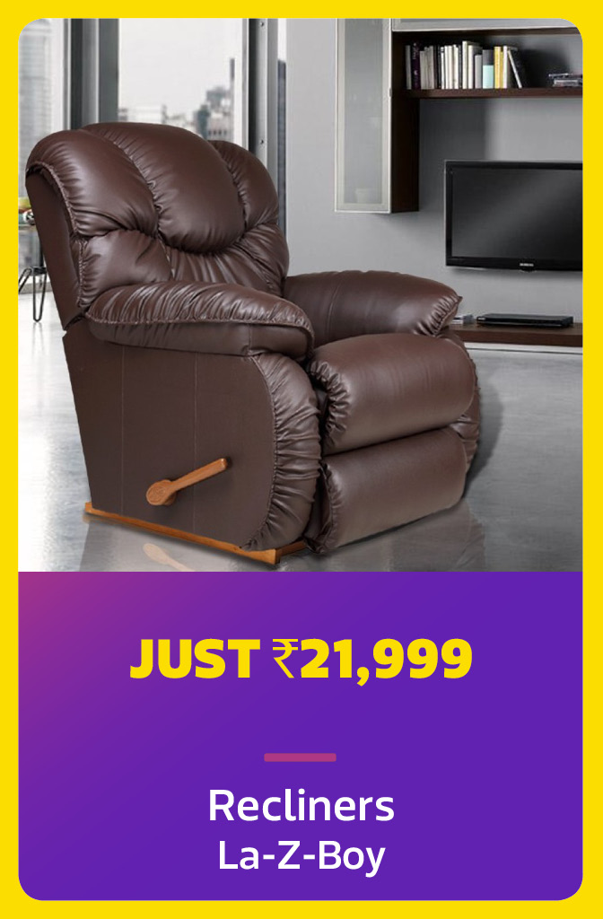 Recliner for Rs.21,999