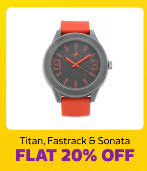 Watches at Min.20% Off
