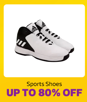 Sports Shoes up to 80% Off