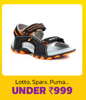 Slippers and Sandals under Rs.999