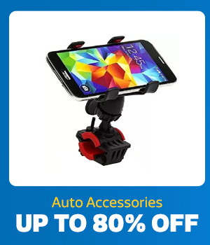 Auto Accessories up to 80% Off
