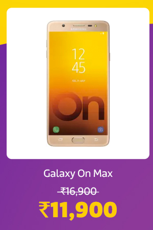 Galaxy On Max for Rs.11,900
