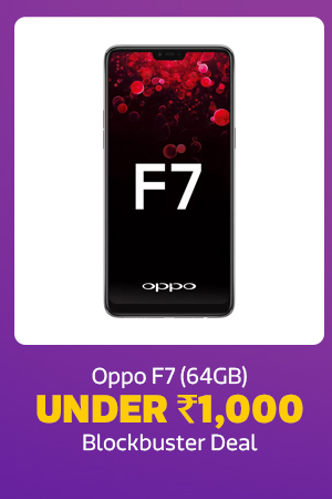 Oppo F7 for Rs.1000