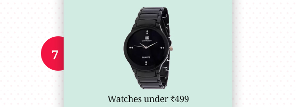 Watches under Rs.499