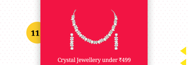 Crystal Jewellery under Rs.499
