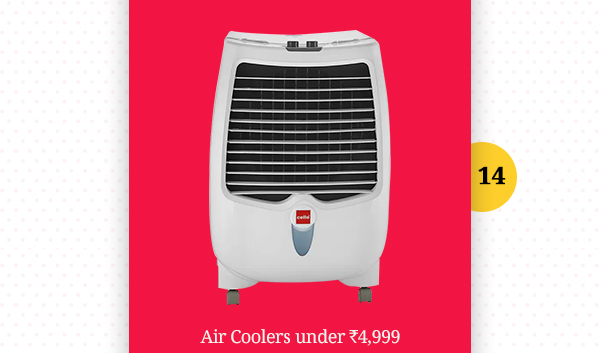 Air Collers under Rs.4,999