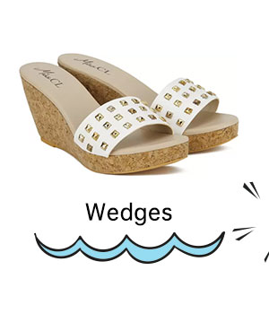 Wedges Minimum 50% Off