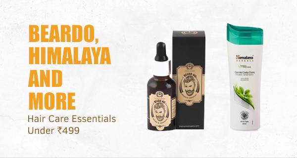 Beardo, Himalaya and more Hair Care Essentials under Rs.499