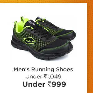 Men's Running Shoes under Rs.999