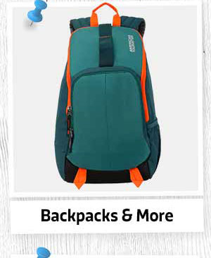 Backpacks & Suitcases