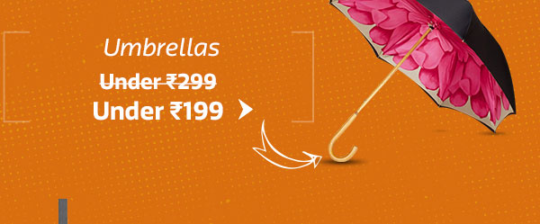 Umbrella Under Rs.199 (BAU 299)