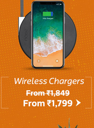 Wireless Chargers From Rs.1799 (BAU 1849)