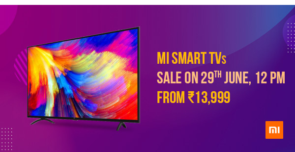 Mi LED Smart TVs - From Rs.13,999
