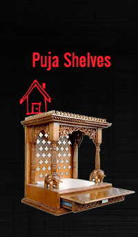 Puja Shelves
