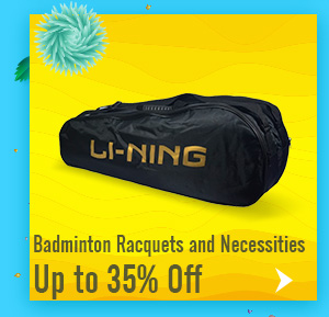 Badminton Racquets and Necessities