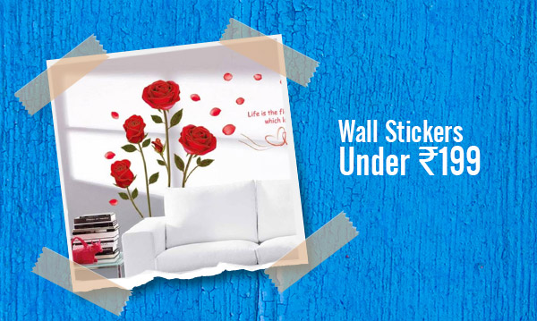 Wall Stickers under Rs.199