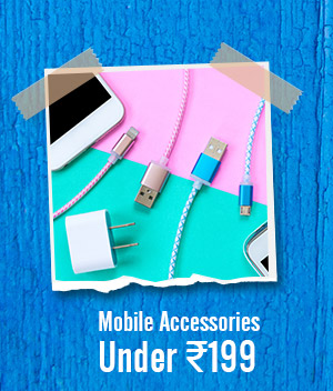 Mobile Accessories under Rs.199