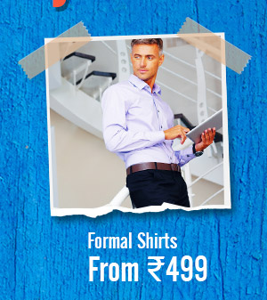 Formal Shirts from Rs.499