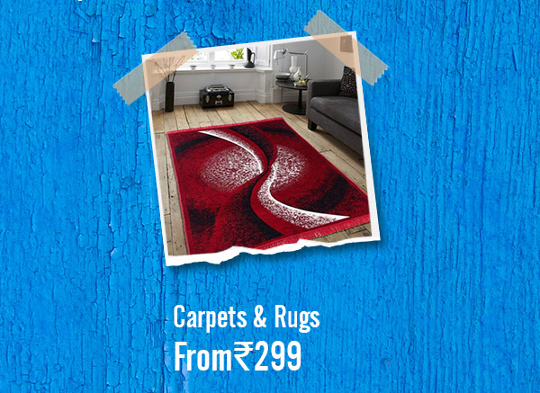 Carpets & Rugs from Rs.299