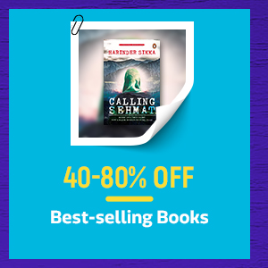 Monsoon Bestselling Books @ 40-80% Off