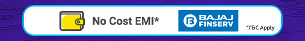 No Cost EMI Offers from Bajaj Finserv Ltd.