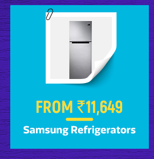 Samsung Refrigerators From Rs.11,649