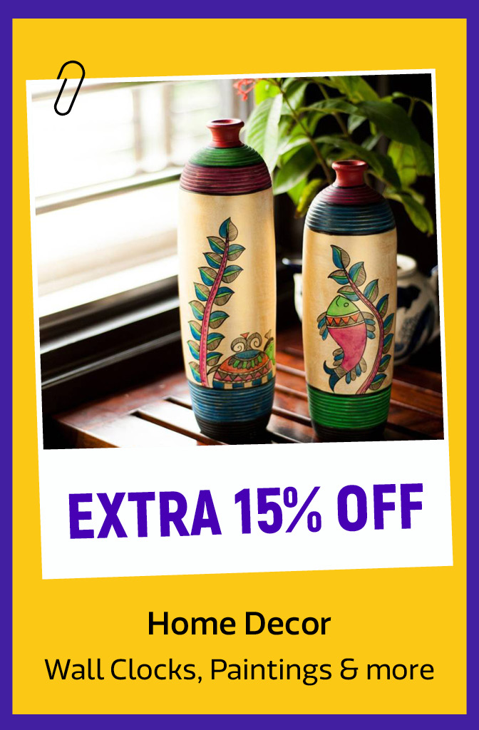 Home Décor at extra 15% Off