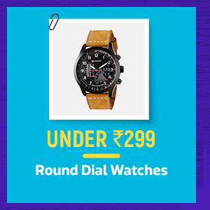 Round Dial Watches under Rs.299