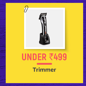 Trimmers under Rs.499