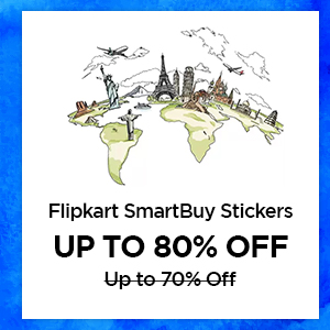 Flipkart SmartBuy Stickers up to 80% Off