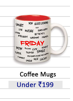 Coffee Mugs under Rs.199