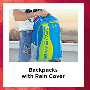 Backpacks with Rain Cover