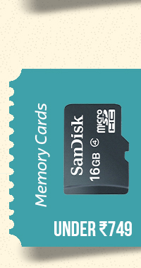 Memory Cards under Rs.749