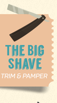 The Big Shave: Trim & pamper