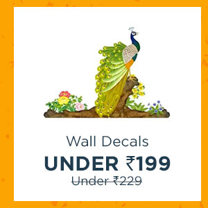 Wall Decals under Rs.199