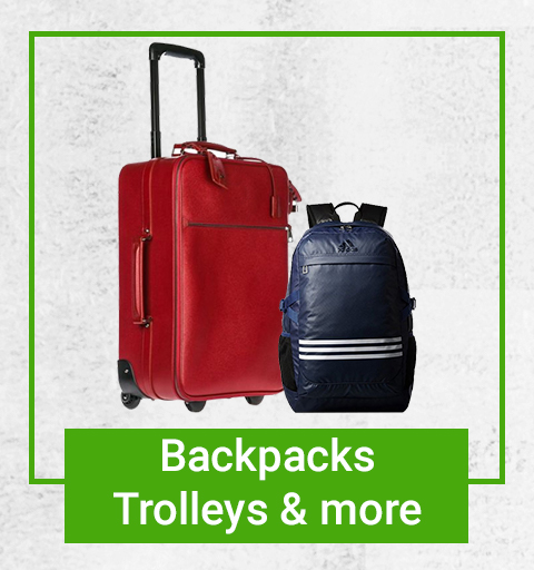 Backpacks, Trolleys and more