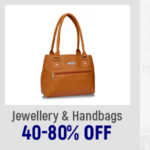 Jewellery & Handbags at 40-80% Off