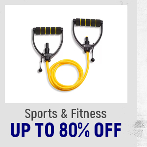 Sports and Fitness up to 80% Off