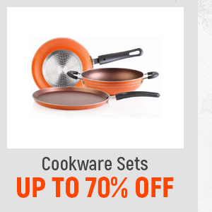 Cookware Sets up to 70% Off