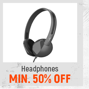Headphones at Min.50% Off
