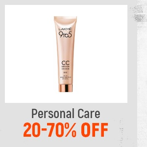 Personal Care at 25-70% Off