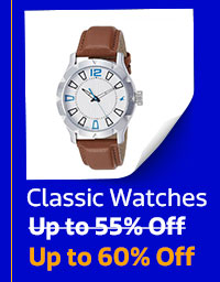 Classic Watches up to 60% Off